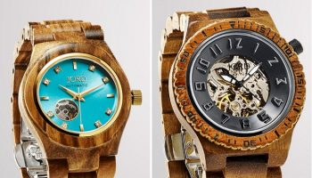 Sustainable And Exclusive Wooden Watches By JORD