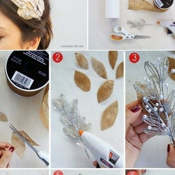 The DIY Guide to The Prettiest Bridal Headbands
