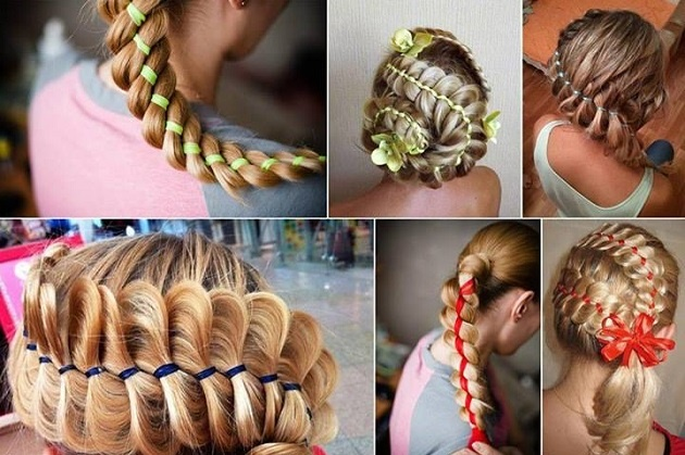 The-Four-Strand-Braid-Using-A-Ribbon