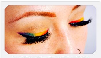 The Rainbow Eyeliner for a Stunning Makeup