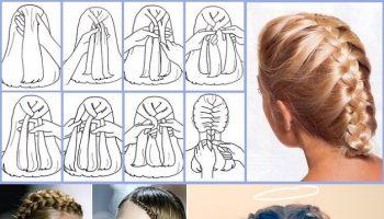 Fine Rose Bud Flower Braid Hairstyle Tutorial Alldaychic Short Hairstyles Gunalazisus