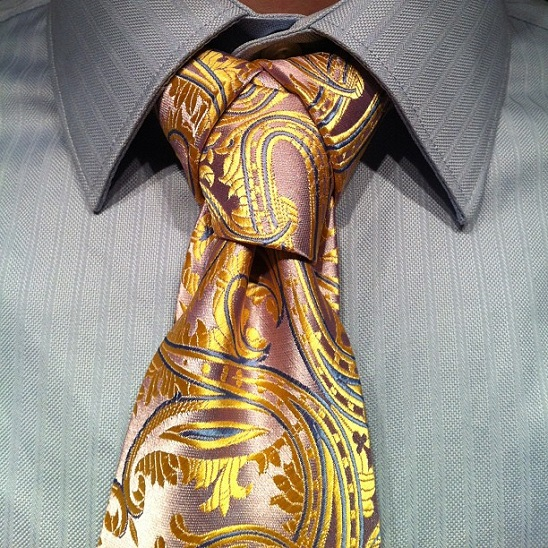 how to make a perfect tie knot