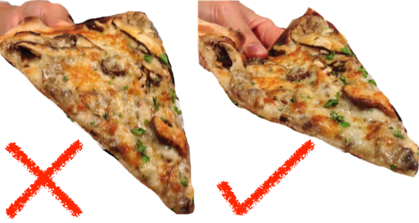 The right way to gorge on Pizza