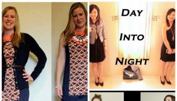 outfit transition from day to night