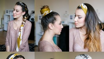 Amazing Hairstyles with Scarves