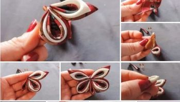 Charming Fabric Butterflies – DIY