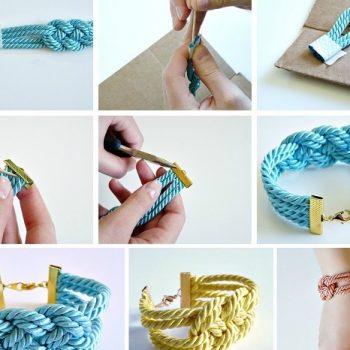 DIY Summer Kissed Knotty Bracelets