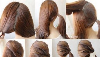 Glamorous Ponytail Hairstyle