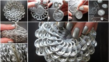 Make Your Own Coin Purse with Soda Tabs