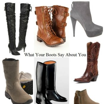 The Boots You Wear Can Tell Your Personality
