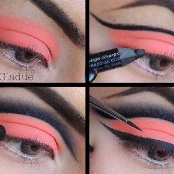 neon-orange-eye-makeup-starrly-gladue