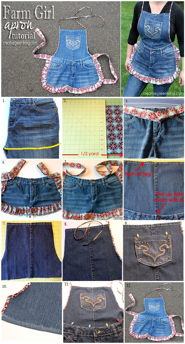 DIY-Farm-Girl-Apron-from-Recycled-Jeans