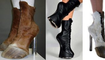 Hoof Footwear -Bizarre Fashion Trends