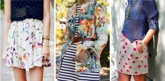 Tips to Save You from the Fashion Police - Mixed Prints