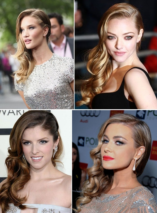 side sweep hair style a sweeping style statement with side swept curls alldaychic 4552