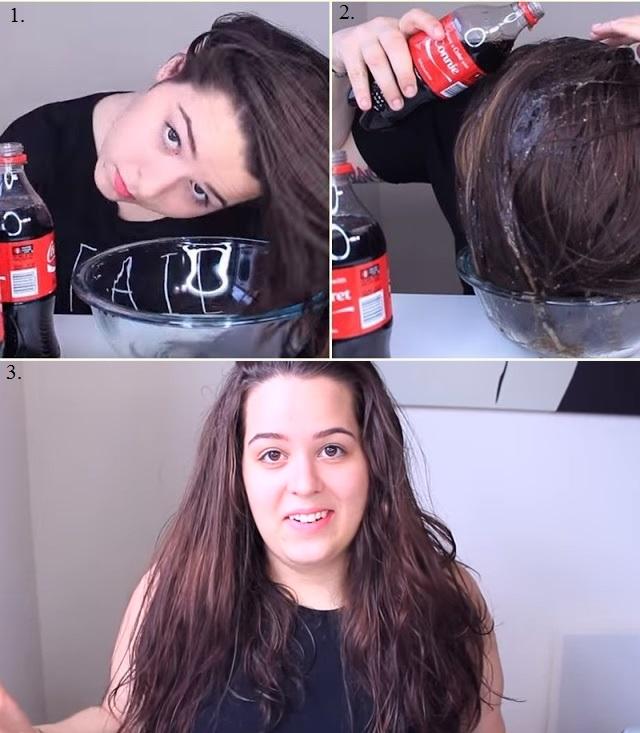 Coca Cola Hair Rinse