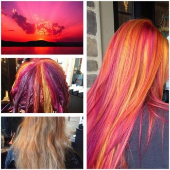 sunset hairstyle