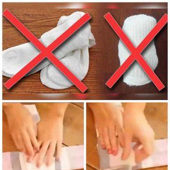folding socks