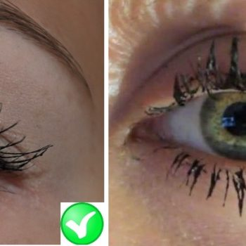 Makeup mistakes – lashes