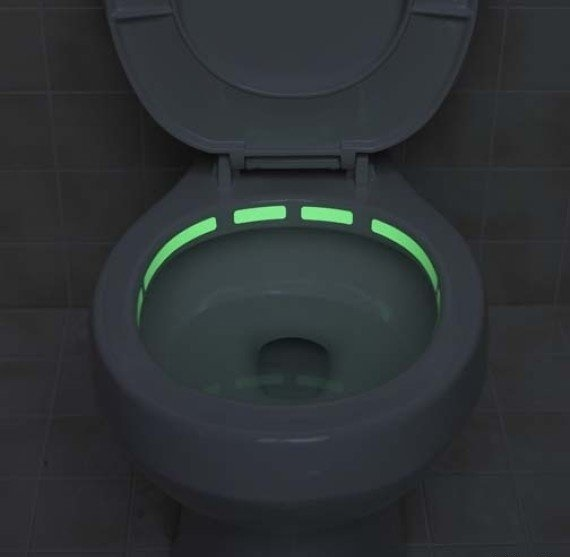 Glow-In-The-Dark Toilet Locator Strip