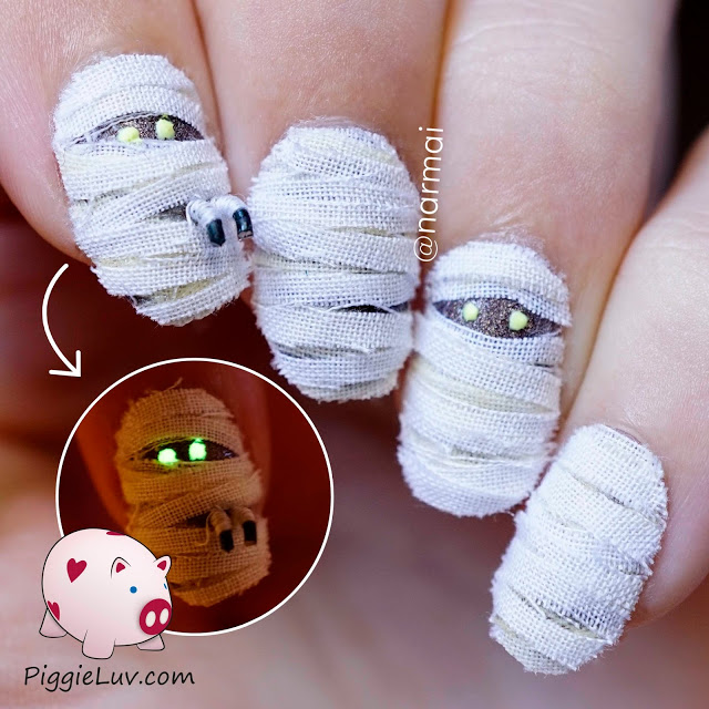 Nail Ideas For The Spookiest Day Of The Year Halloween Alldaychic