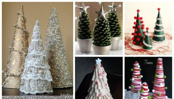 miniature christmas tree ideas youll definitely need diy - Miniature Christmas Decorations