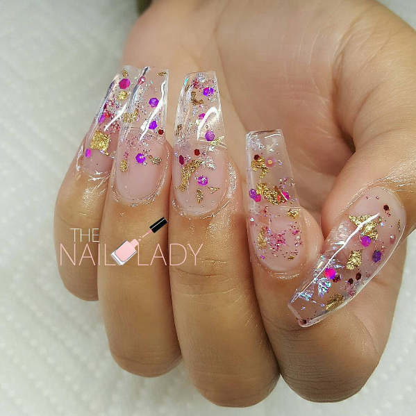 Clear Nail Art - The Perfect Manicure to Match Any Outfit - AllDayChic