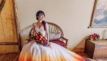 you-need-to-take-a-look-at-this-beautiful-dip-dye-wedding-dress