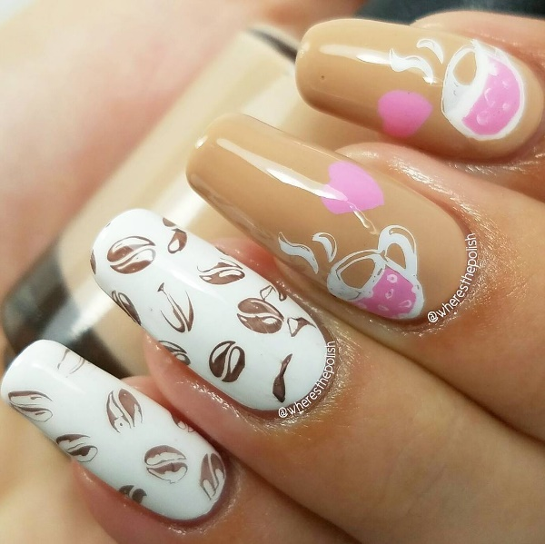 Best Valentine\'s Day Nail Art to Share the Love - AllDayChic