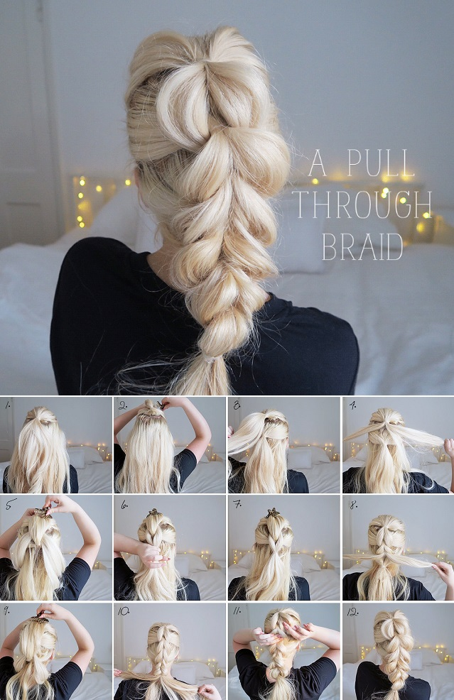 Learn how to braid hair step by