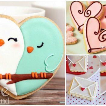 Making Valentine's Day Sugar Cookies (11)