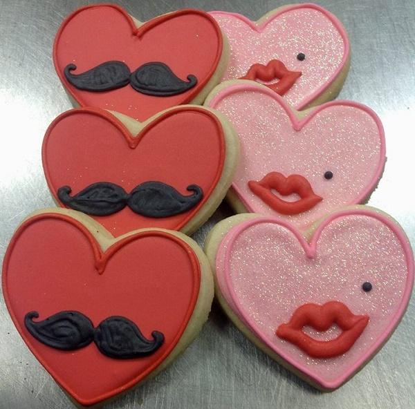 Making Valentine S Day Sugar Cookies 3 Alldaychic