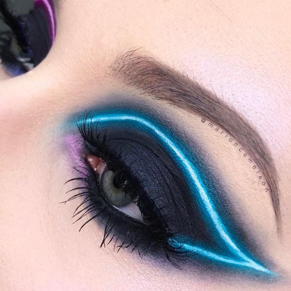 The Neon Makeup Trend Got Us Shook!