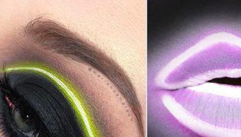 The Neon Makeup Trend Got Us Shook (6)