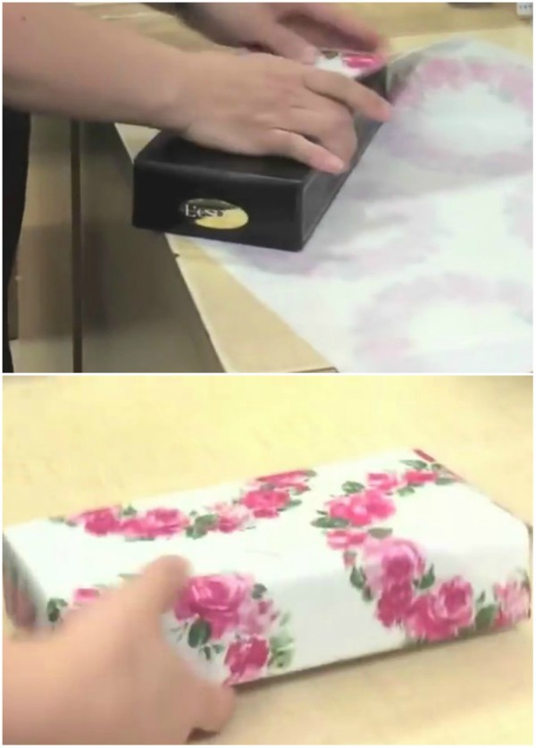 The Fastest Way to Wrap Gifts - Japanese Gift Wrapping Hack ...