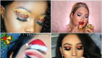 6 Best Christmas Makeup Tutorials to Pull Off This Year