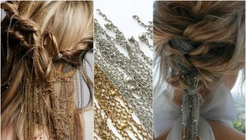 Chain Braid is the Latest Elegant Hairstyle