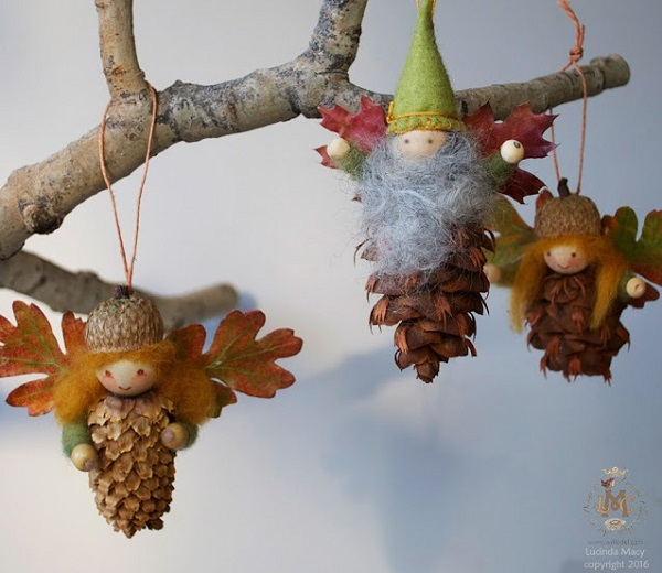 willodel - Pinecone Ornaments For Christmas - AllDayChic