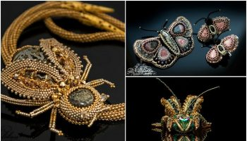 Beaded Insect Jewelry (10)