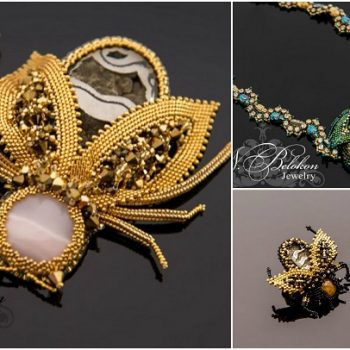 Bizarre Beaded Insect Jewelry