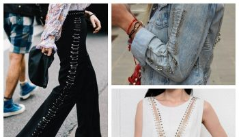 DIY Safety Pins Fashion Items