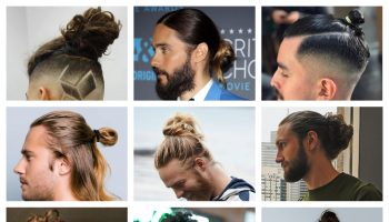 Man bun hairstyles (2)