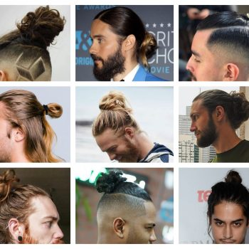 Man bun hairstyles (2)