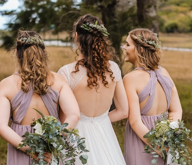 10 Bridesmaid Hairstyles For All Hair Types Alldaychic